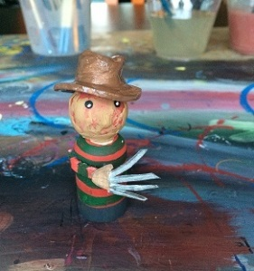 Nightmare on Elm Street Peg People